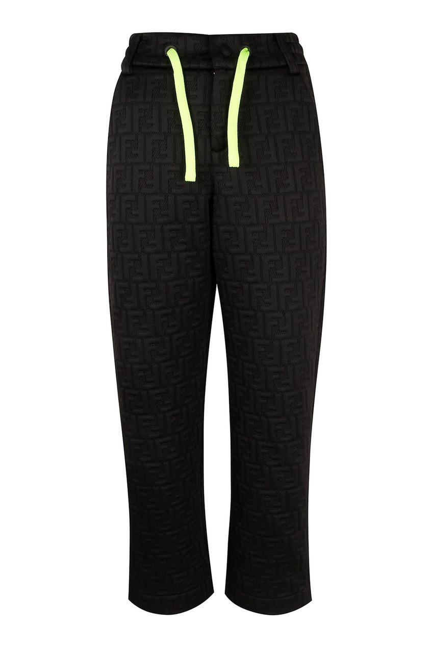 Спортивные брюки с контрастной кулиской от Fendi