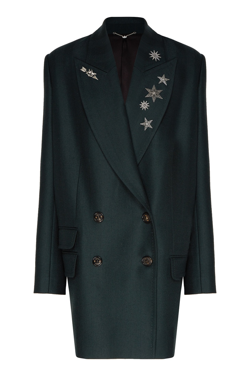 женский жакет yana dress, зеленый