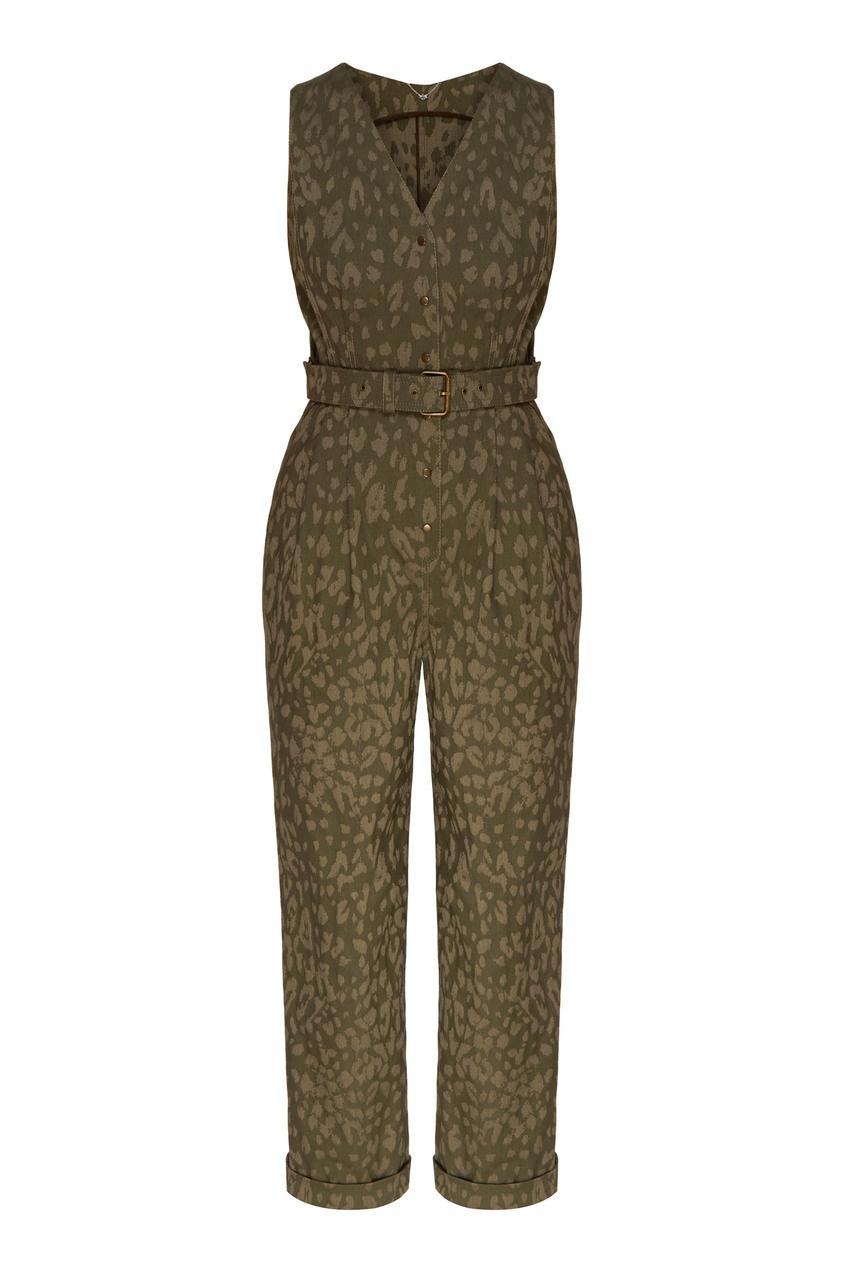 женский комбинезон yana dress, зеленый