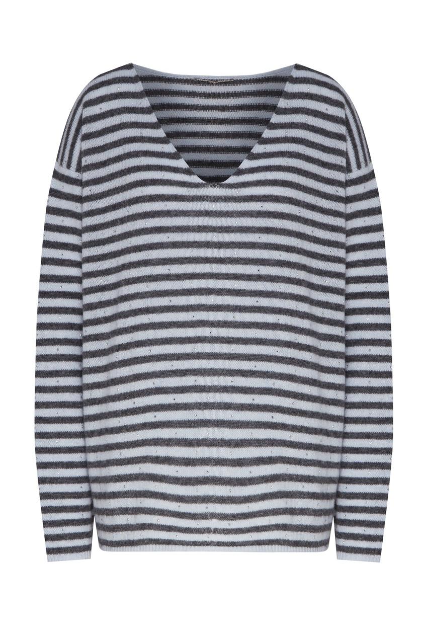 Пуловер в полоску от Yana Dress