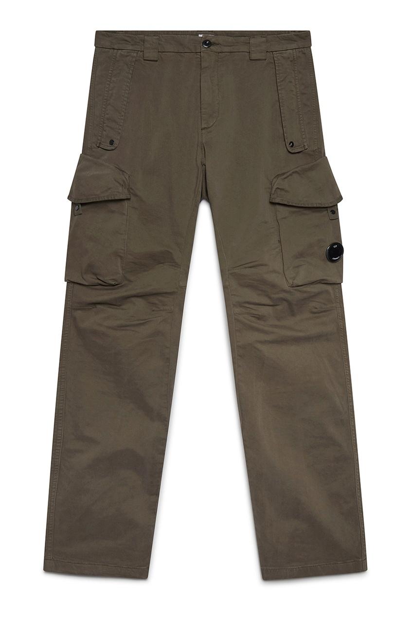 мужские брюки c.p. company, серые