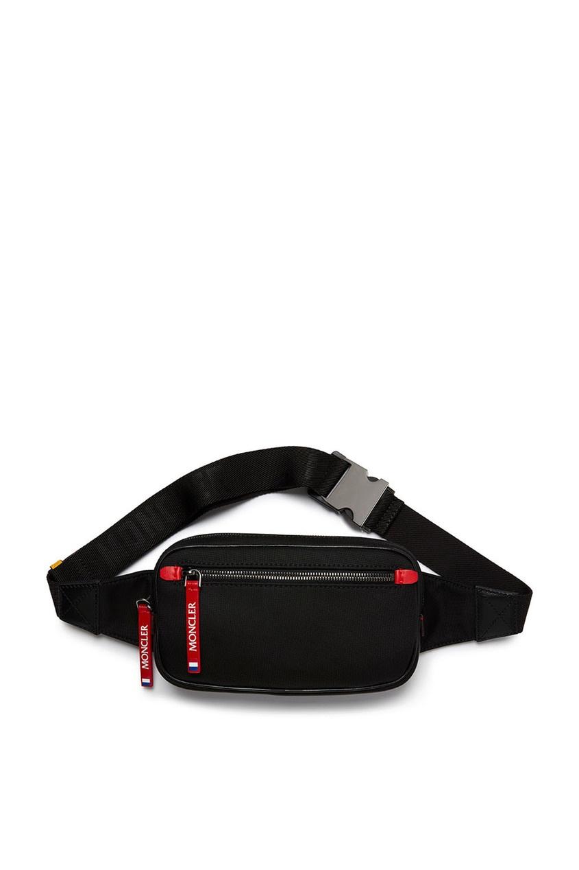 мужская поясные сумка moncler, черная
