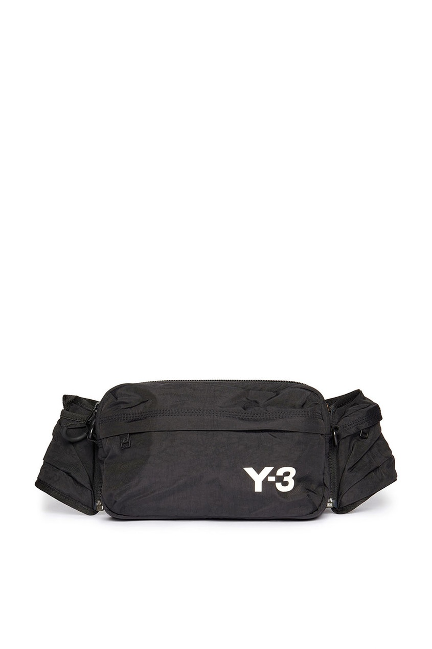 мужская поясные сумка y-3, черная