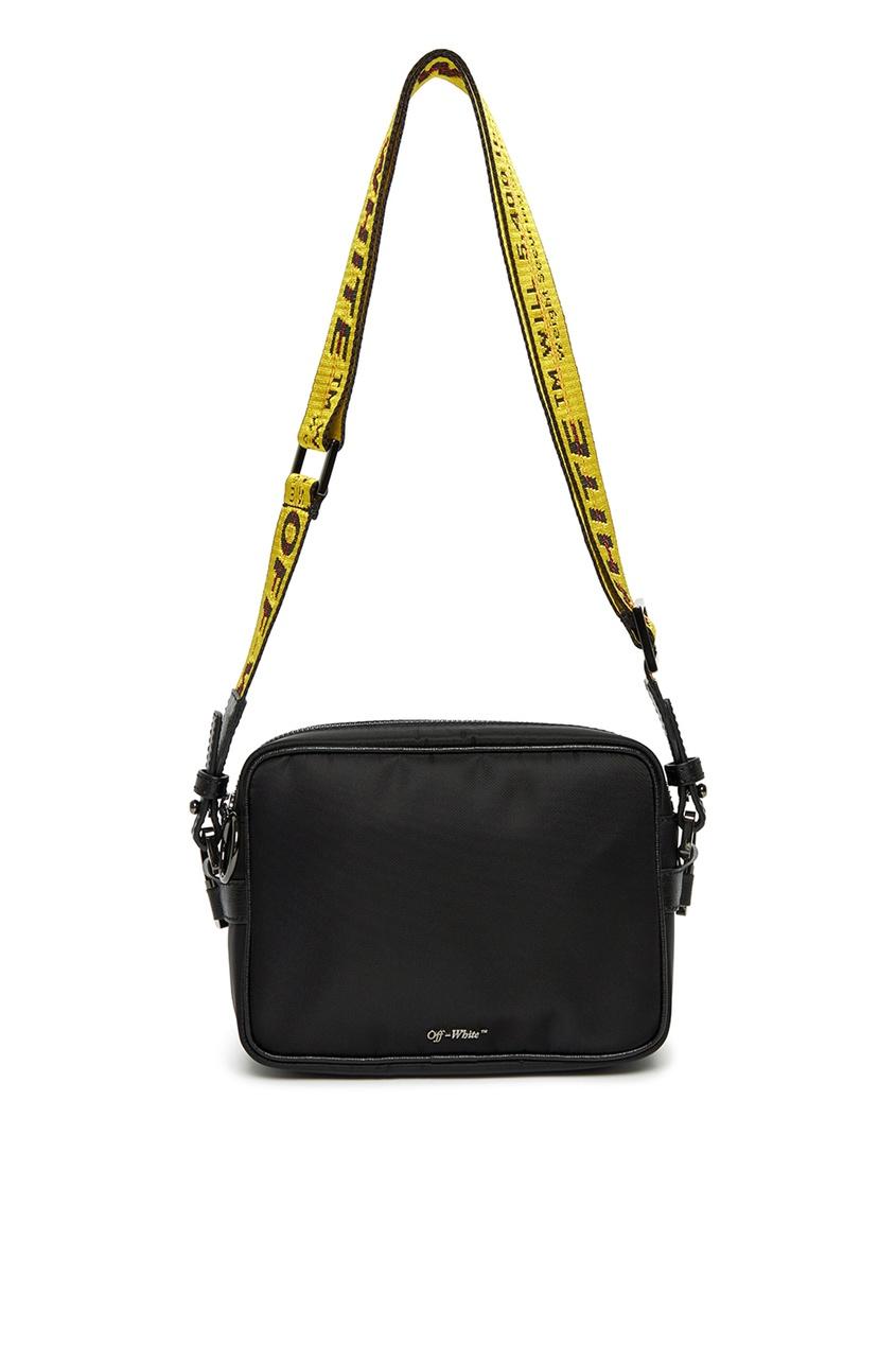 мужская сумка off-white, черная
