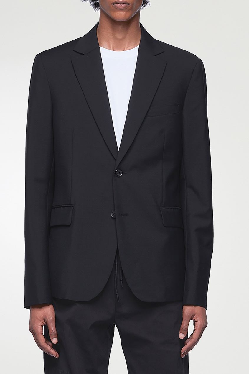 мужской пиджак acne studios, черный