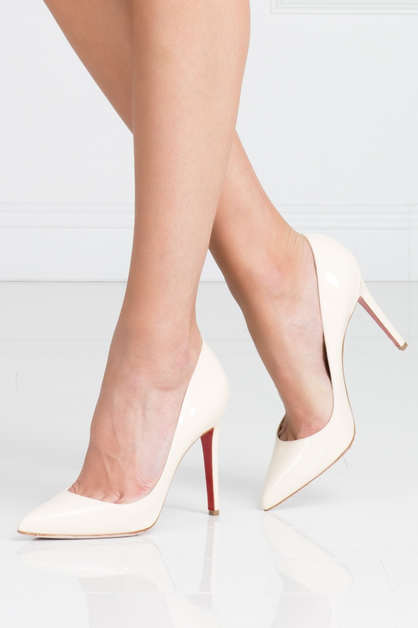 Туфли из лакированной кожи Pigalle 100