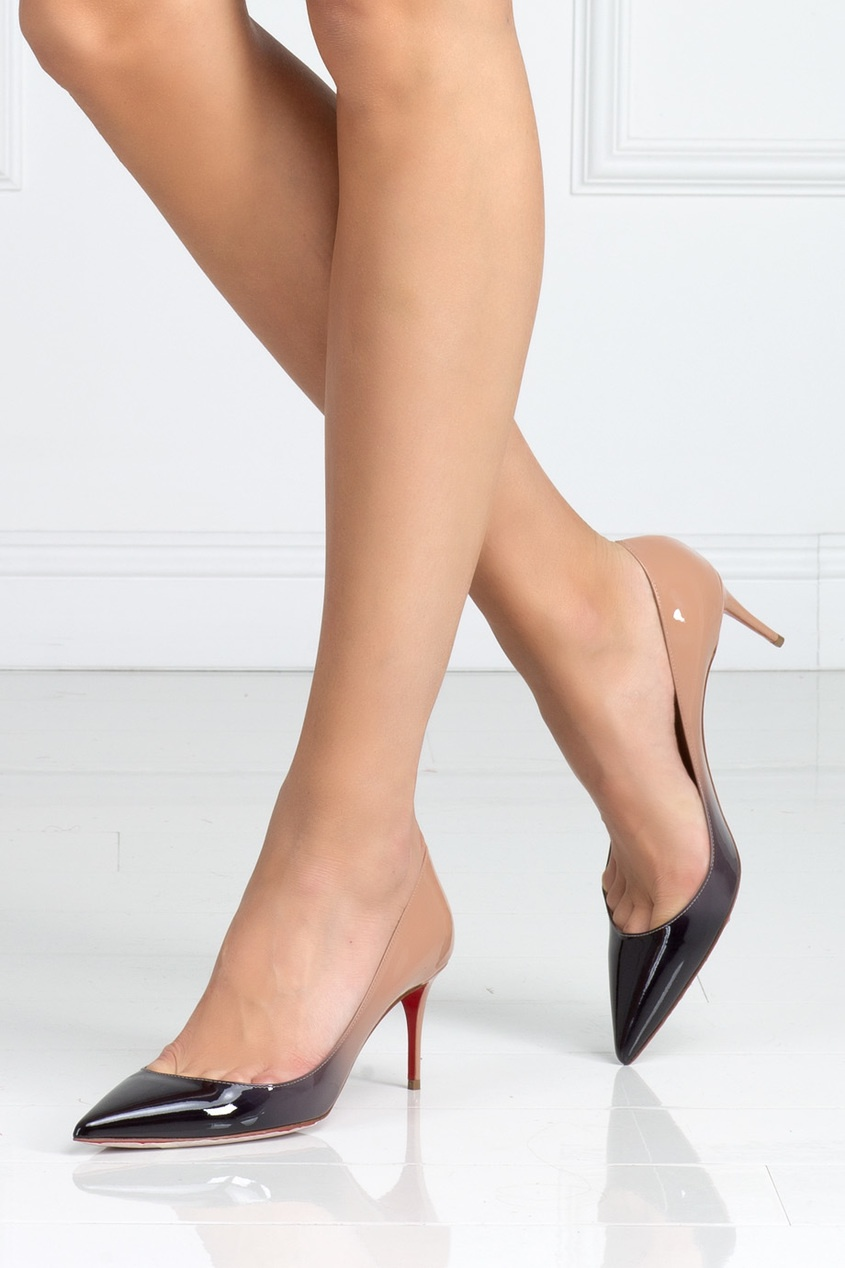 Christian Louboutin Туфли из лакированной кожи Decollete 554 70 цены онлайн