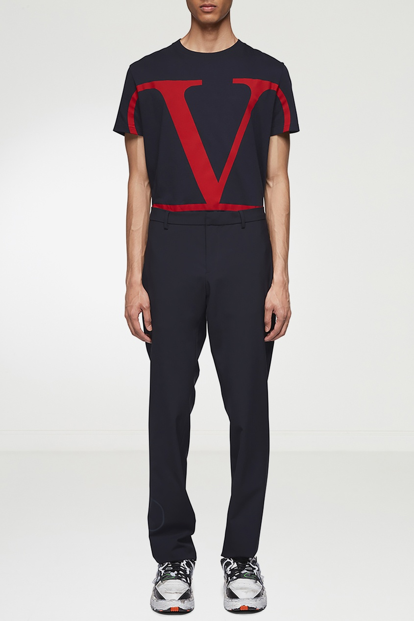 мужские брюки valentino, синие