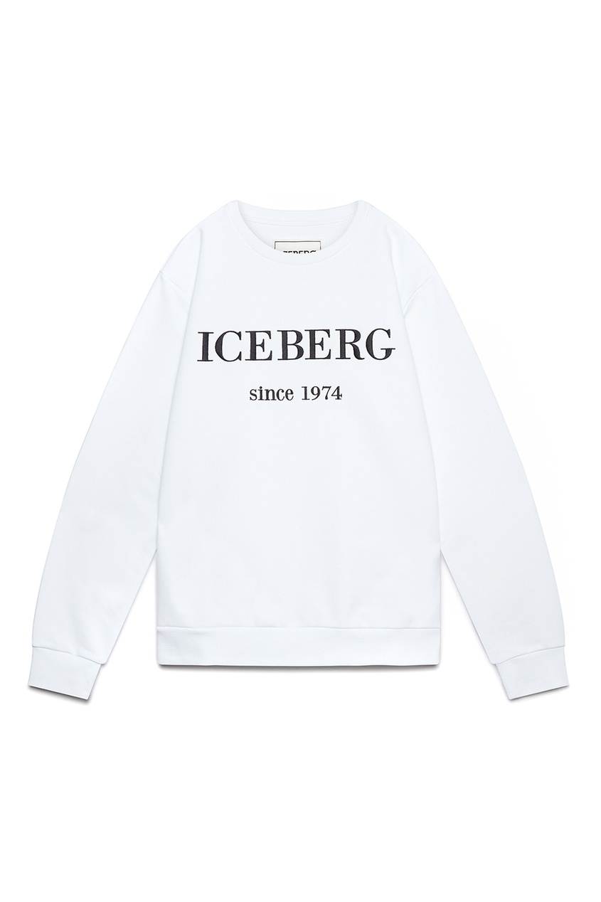 мужской свитшот iceberg, белый