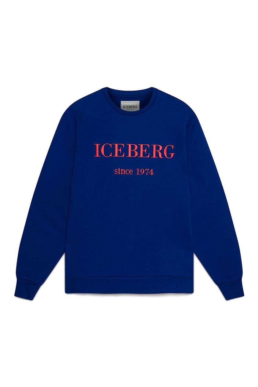 мужской свитшот iceberg, синий