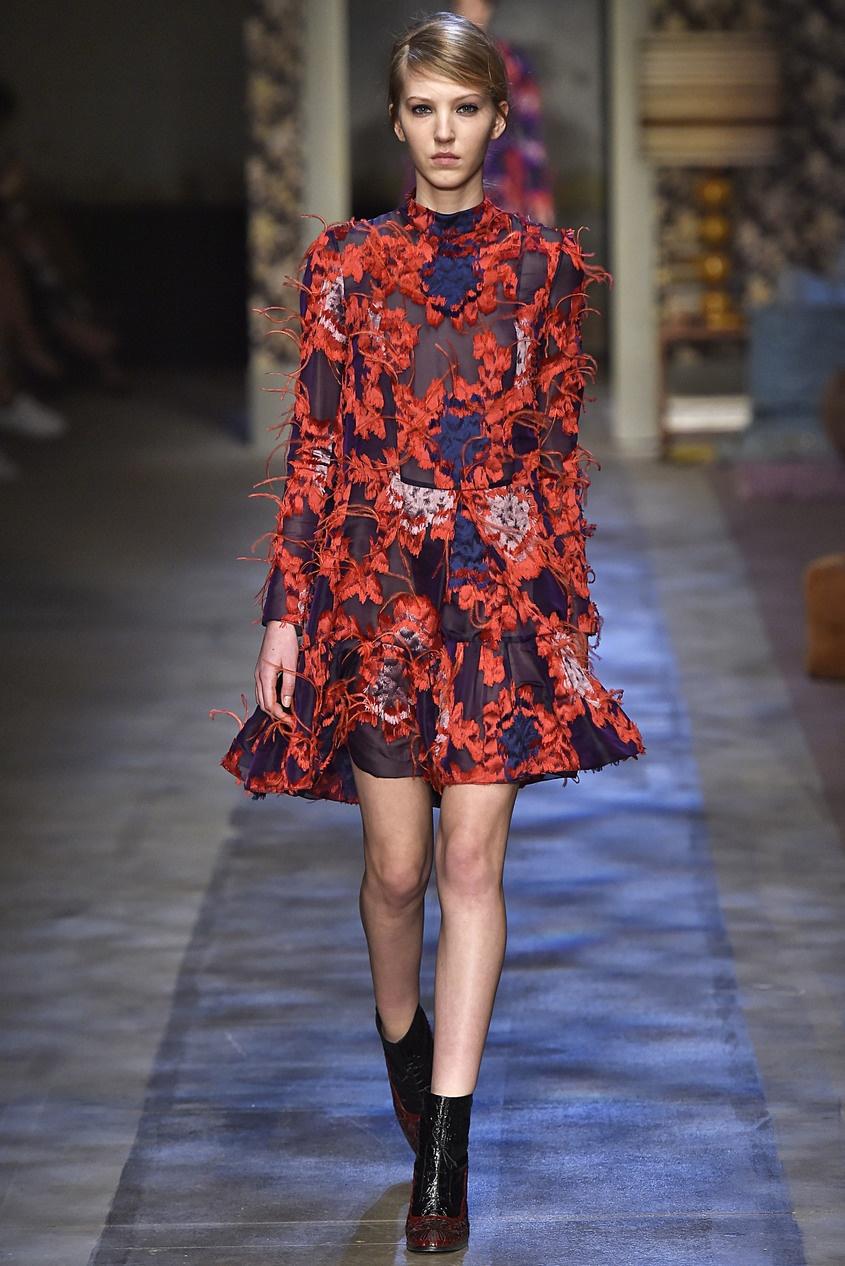 Платье с вышивкой Cosima.