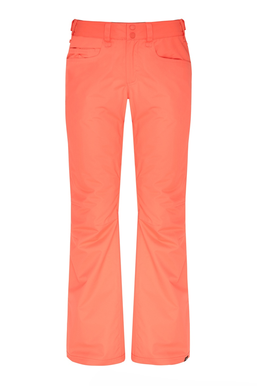 женские сноубордические брюки roxy, розовые