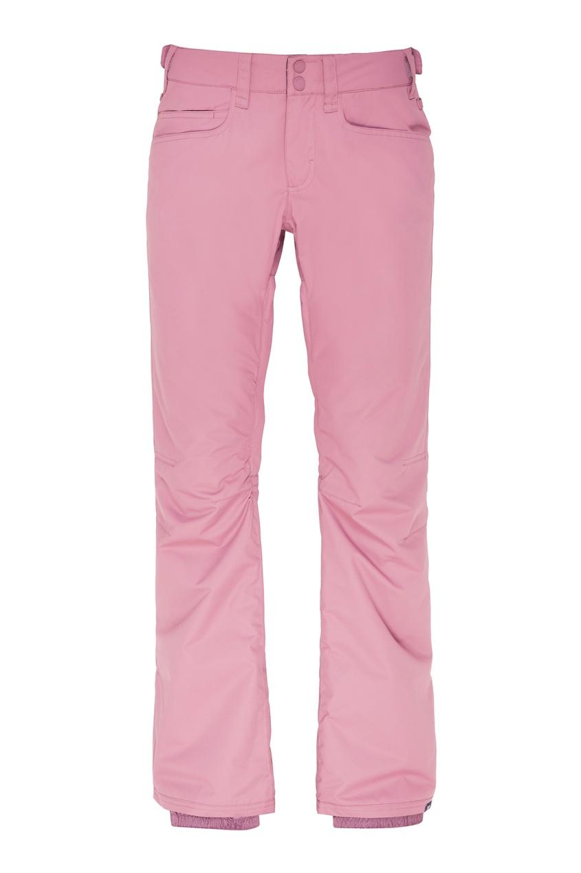 женские сноубордические брюки roxy, фиолетовые