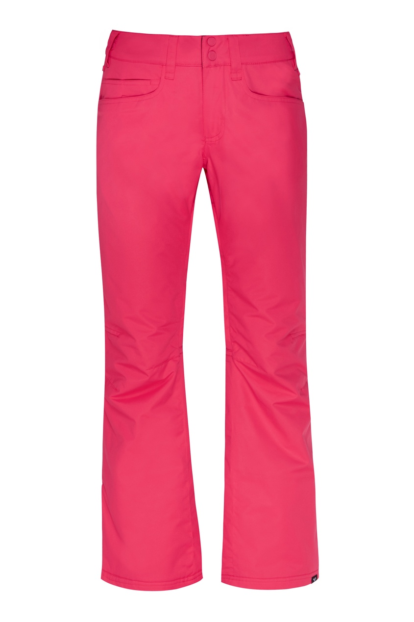 женские сноубордические брюки roxy, фуксия