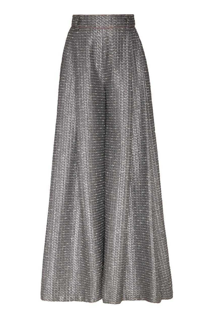 женские брюки igor gulyaev, серые