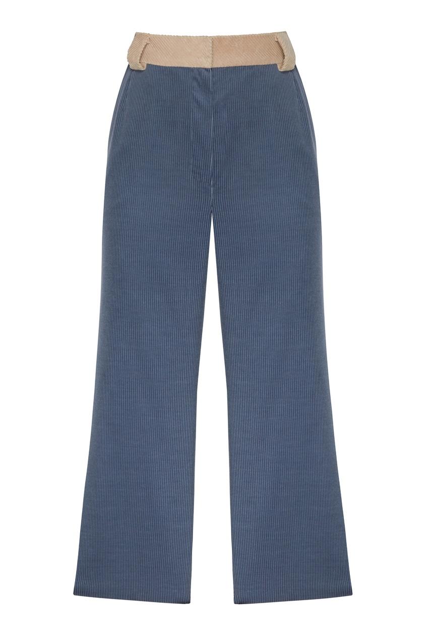 женские брюки igor gulyaev, синие