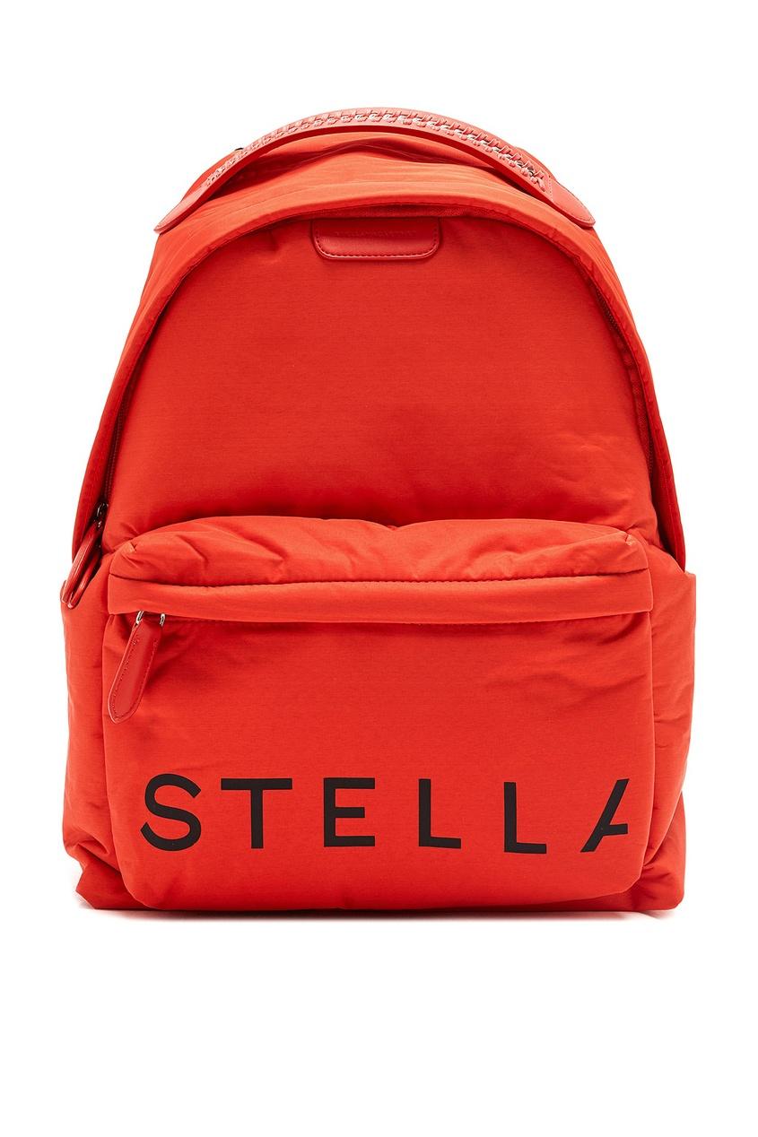женский рюкзак stella mccartney, розовый