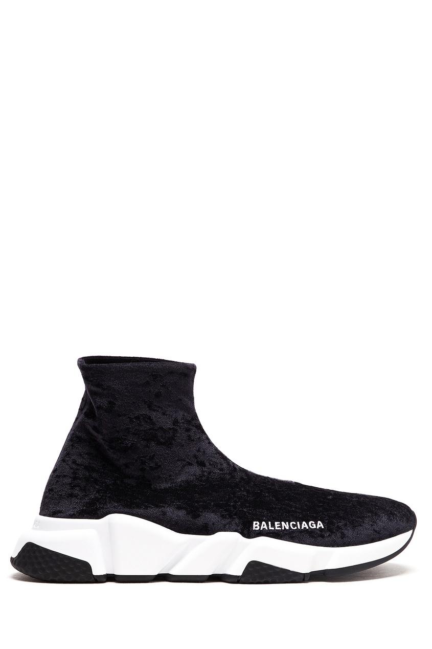 женские носки balenciaga, черные
