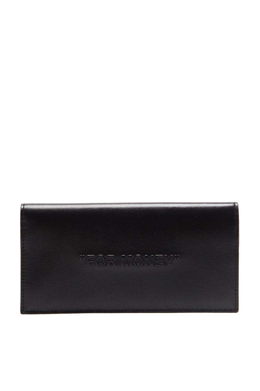 мужской кошелёк off-white, черный