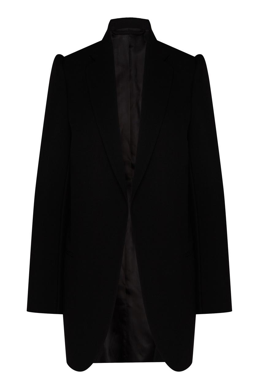 женский пиджак balenciaga, черный