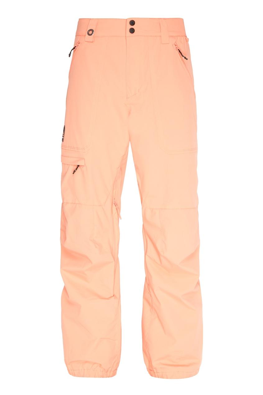 мужские сноубордические брюки quiksilver, розовые