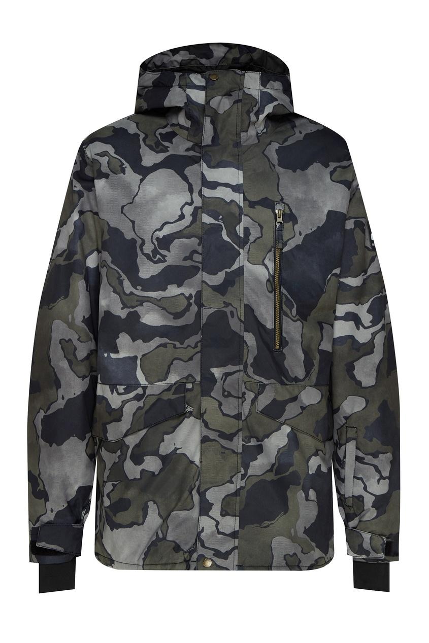 мужская сноубордические куртка quiksilver, черная