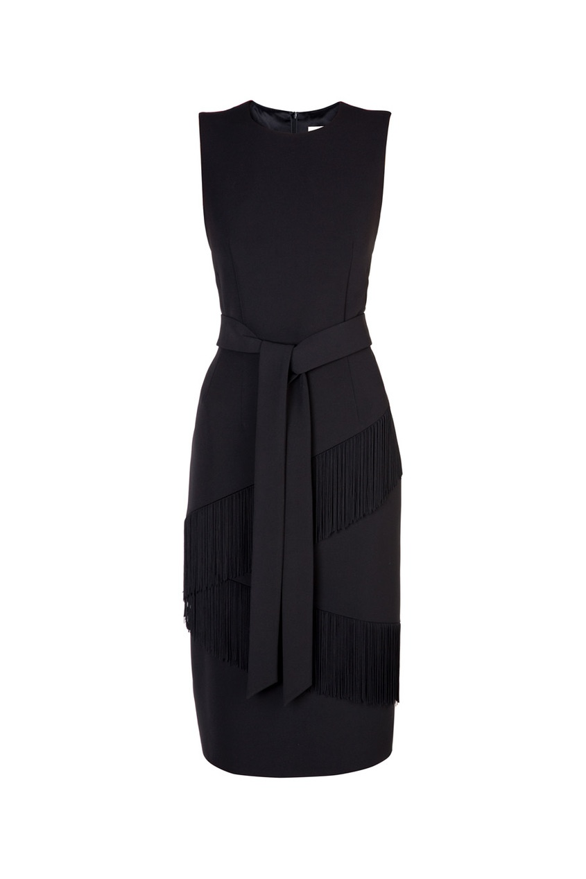 Платье с бахромой от AIZEL