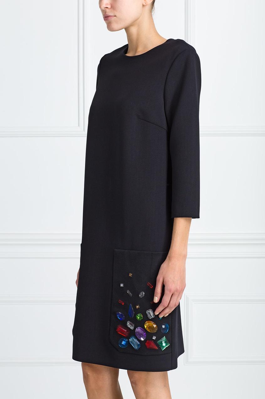 Шерстяное платье от AIZEL