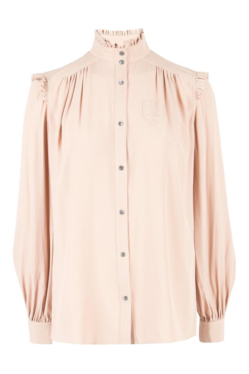 женская блузка no.21, бежевая