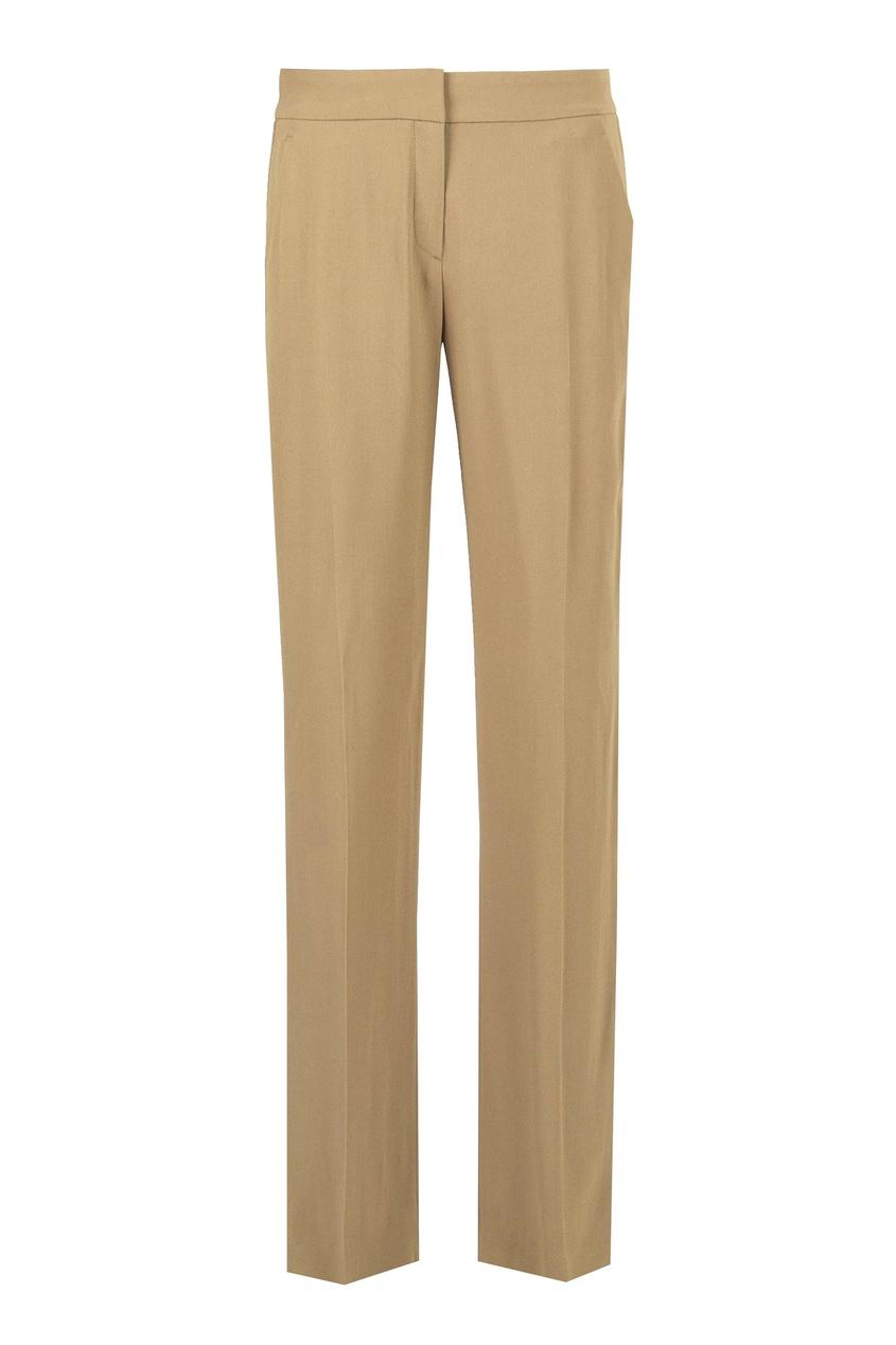 женские брюки no.21, бежевые