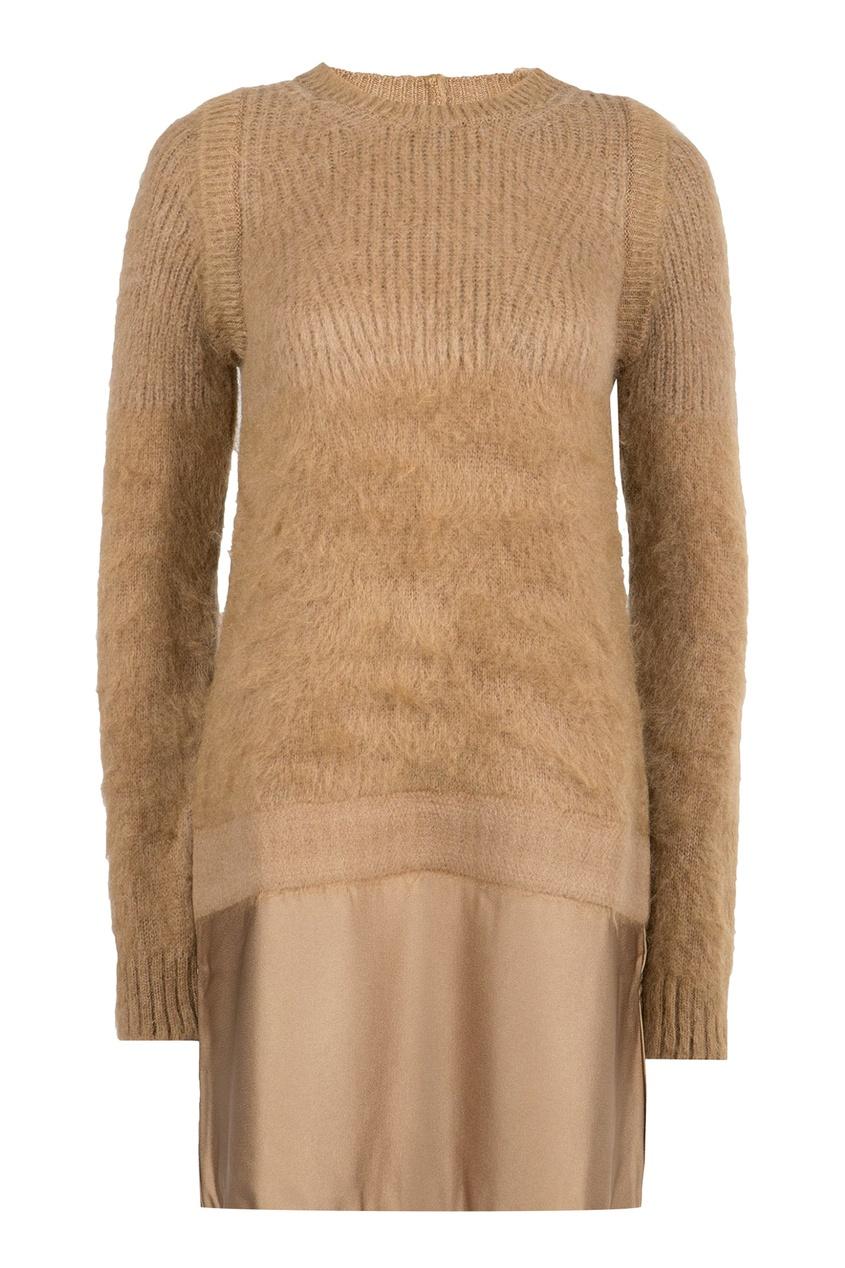 женское платье no.21, бежевое