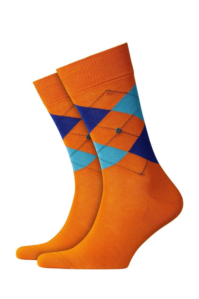 мужские носки burlington, оранжевые