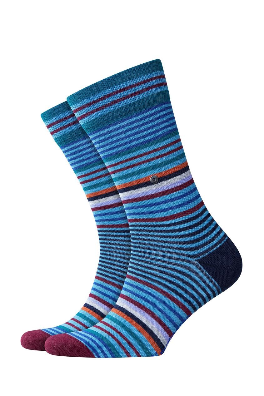 мужские носки burlington, голубые
