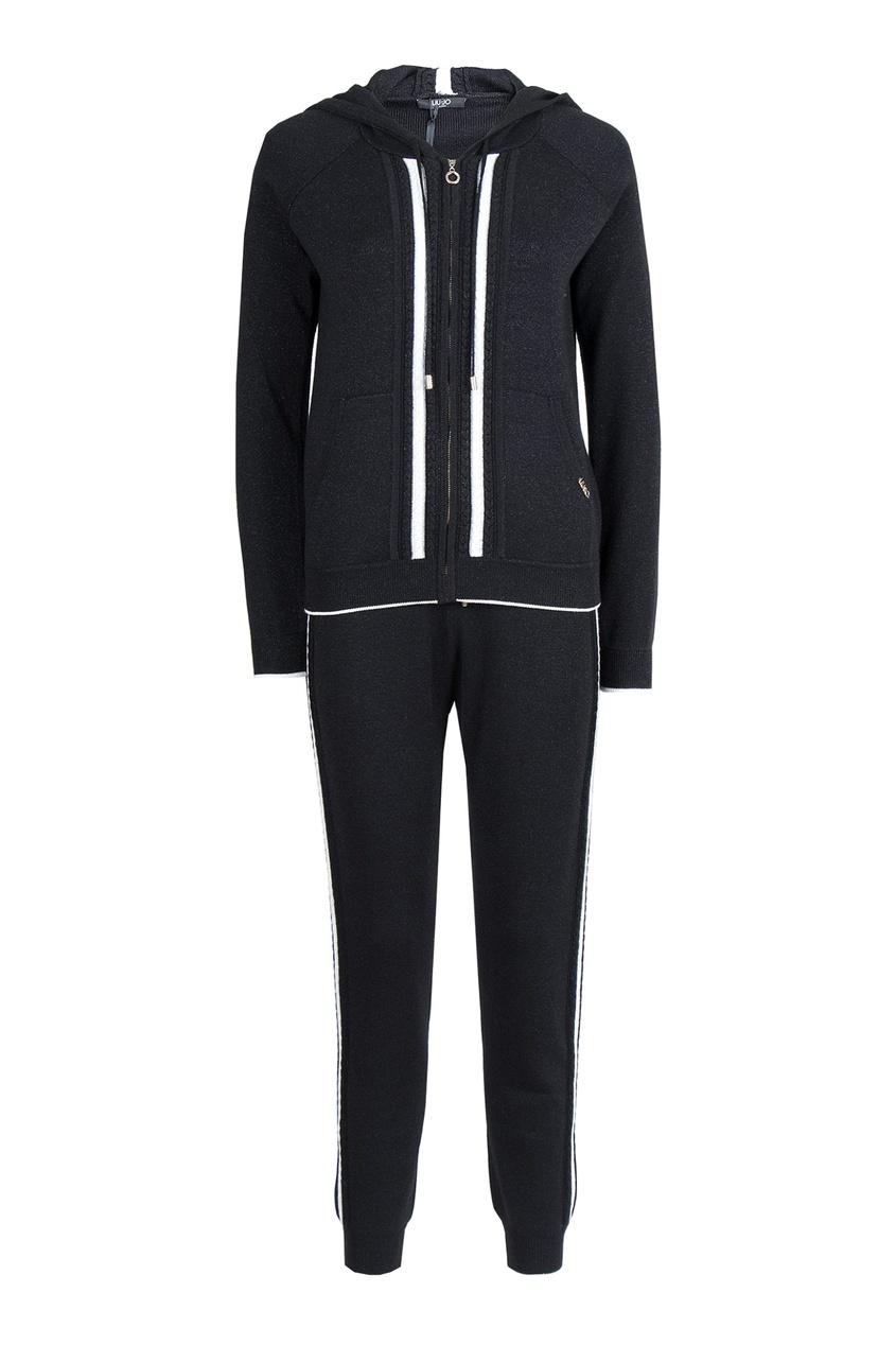 женский спортивный костюм liu jo, черный