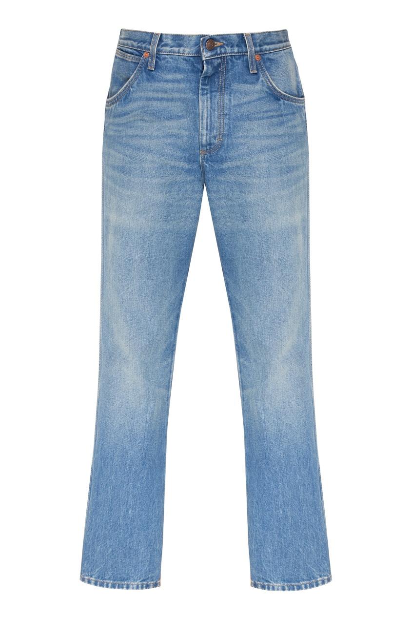 мужские джинсы gucci man, голубые