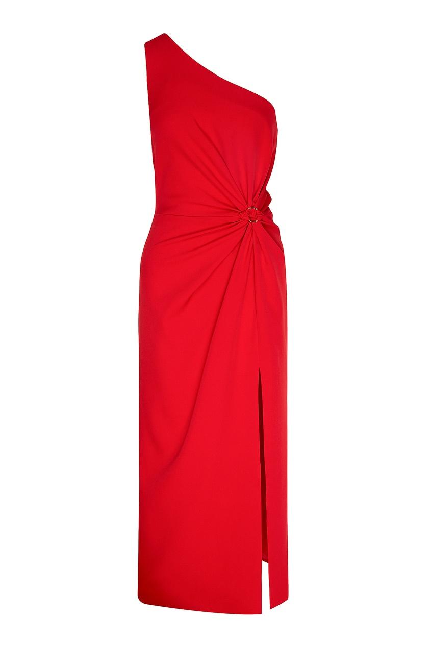 женское платье laroom, красное