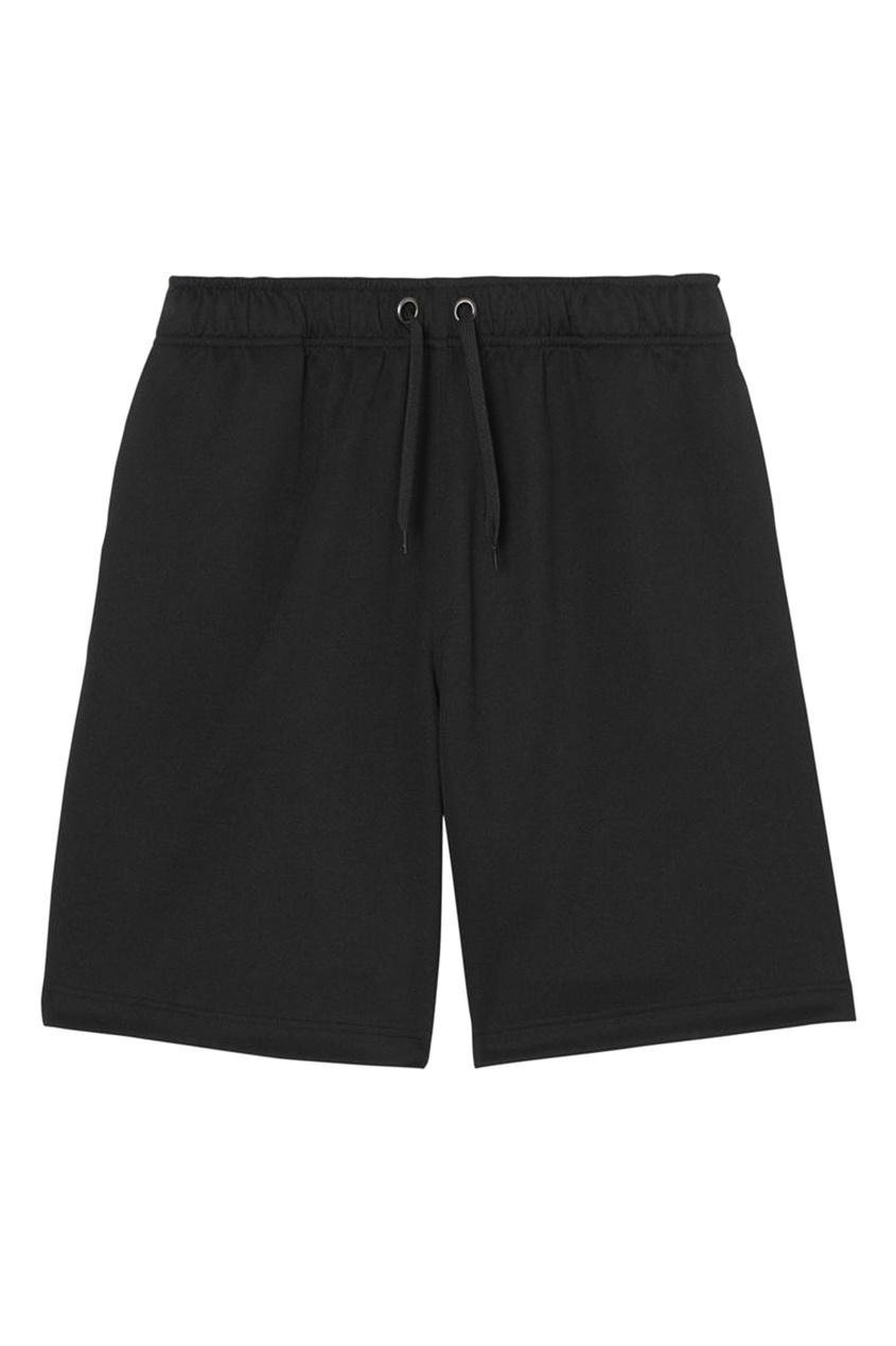 Черные шорты с лампасами от Burberry