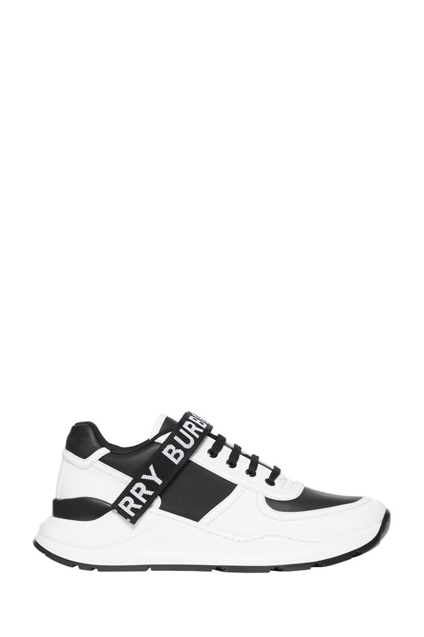 мужские кроссовки burberry, черные