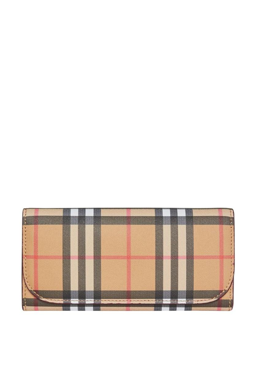 женский кошелёк burberry, красный