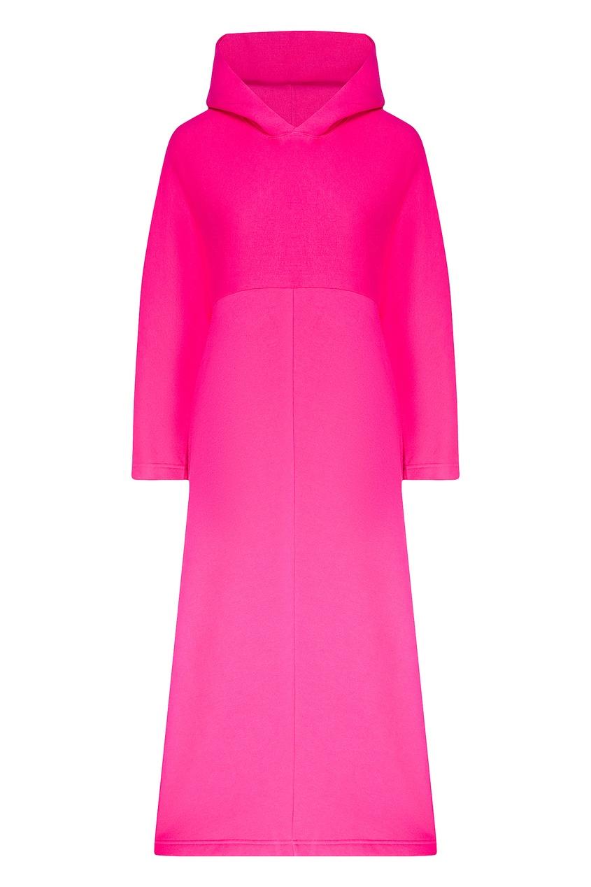 женское платье balenciaga, розовое