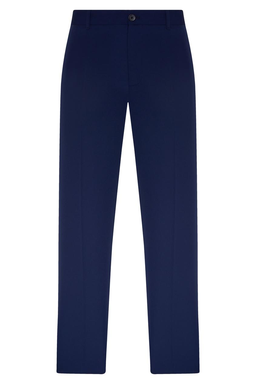 женские укороченные брюки balenciaga, синие