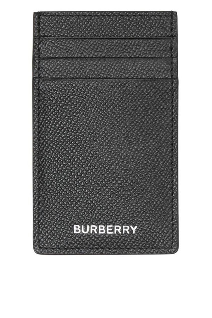 Черный футляр для карт от Burberry
