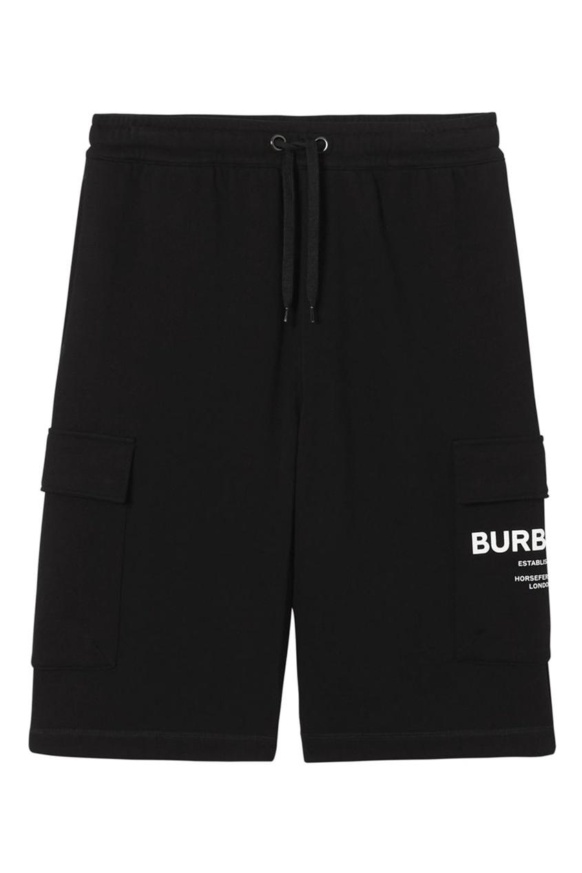 мужские шорты burberry, черные
