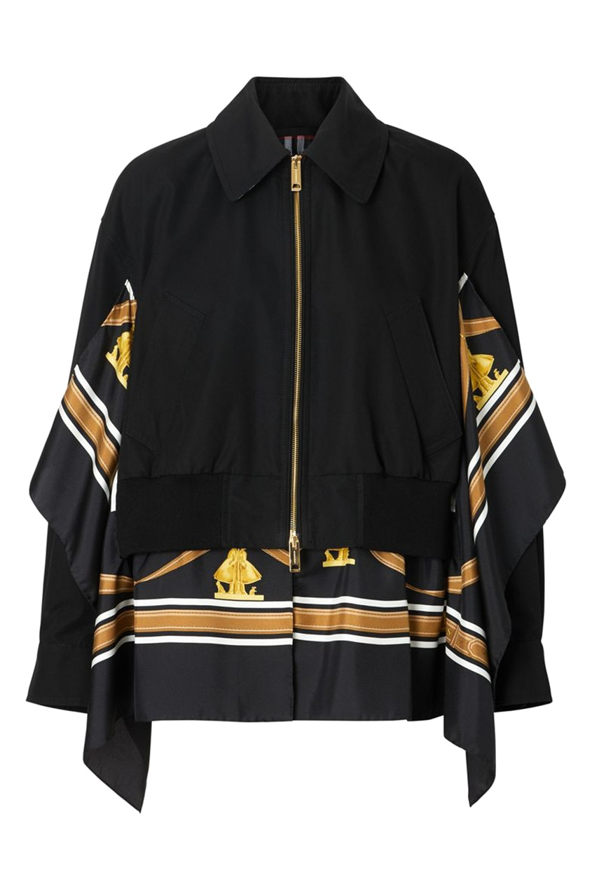 Укороченная куртка-бомбер от Burberry