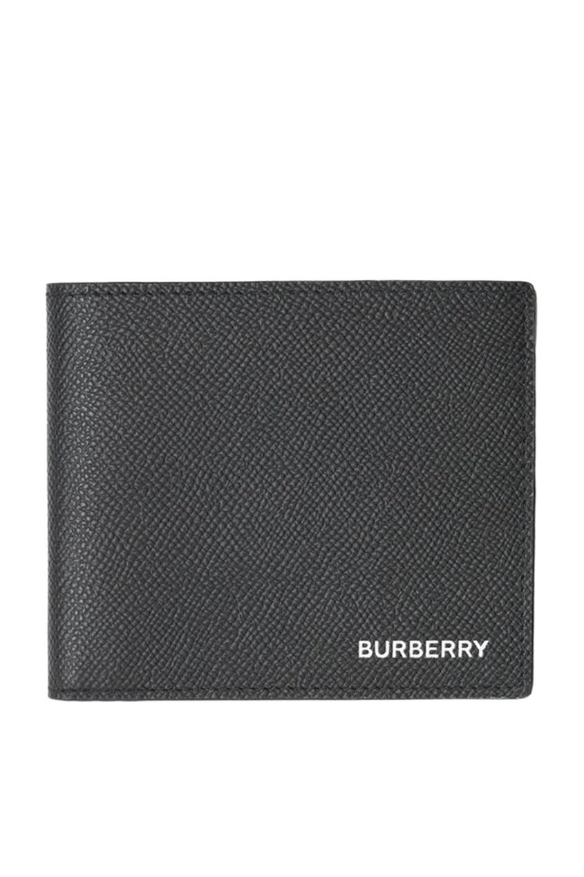 мужской кошелёк burberry, черный