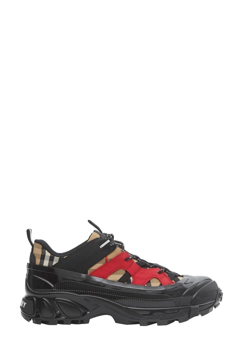 мужские кроссовки burberry, бежевые