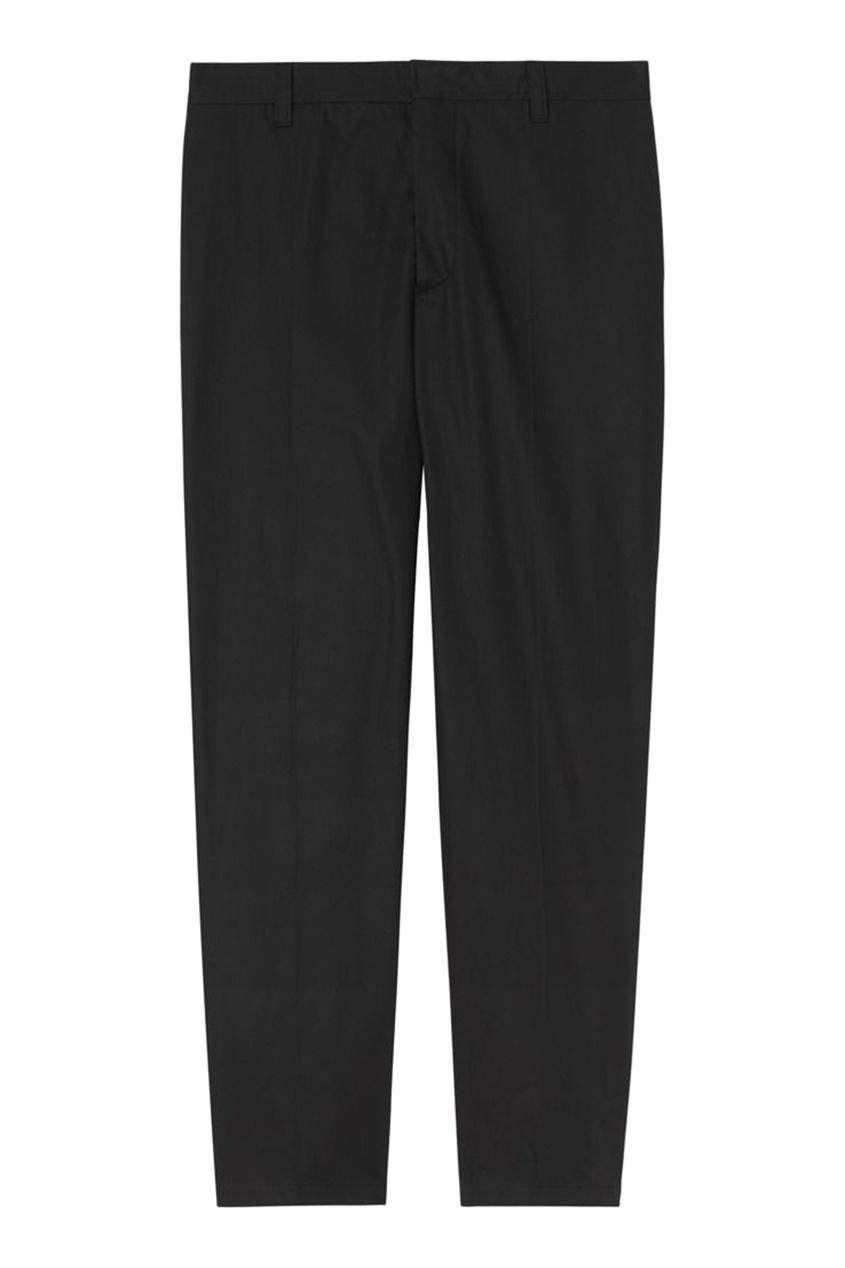 Черные брюки со вставками от Burberry