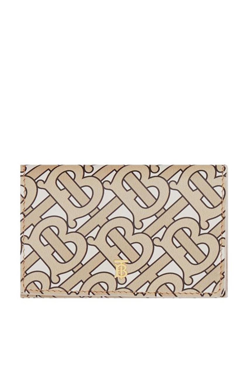 Складной бумажник с монограммой Burberry
