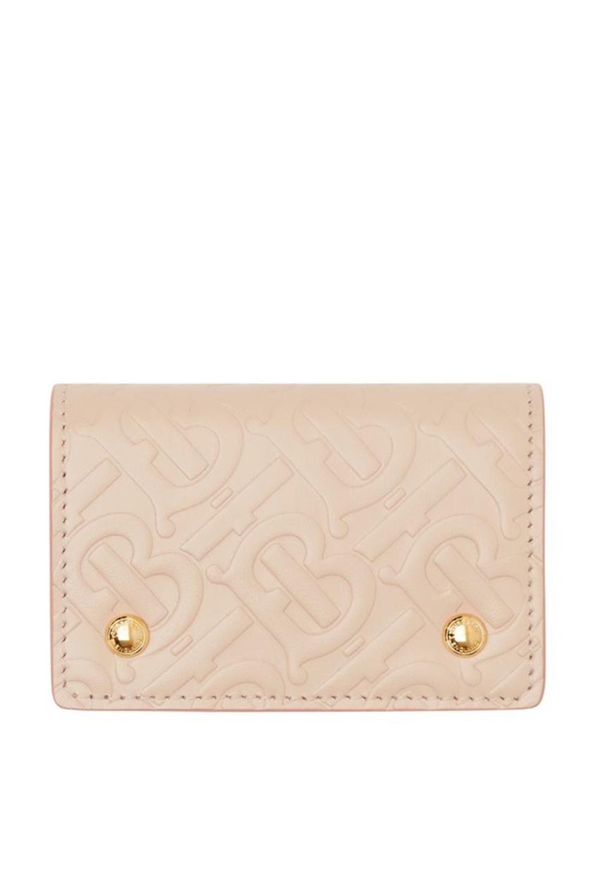 женский кошелёк burberry, розовый
