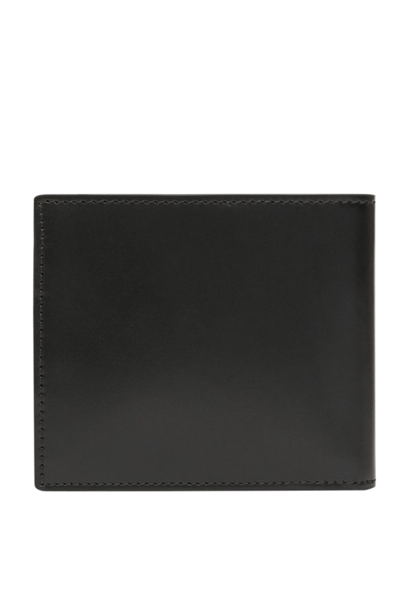 Черный кожаный кошелек от Burberry